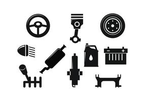 Freie Automotive Icon Vektor