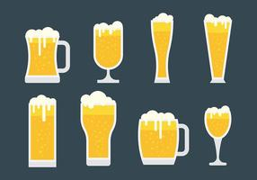 Freie Cerveja Vektor-Icons
