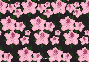 Rhododendron Vektor-Muster vektor