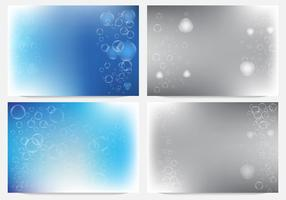 Bubblor I Fizzing Bakgrund vektor