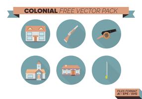 Colonial Free Vector-Pack vektor