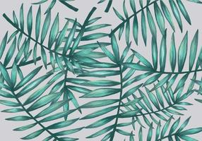 Palmetto Nahtlose Muster Vektor