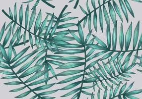 Palmetto Seamless mönster vektor