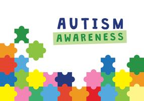 Autismus-Bewusstseins-Plakat