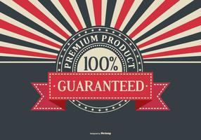 Retro Werbe Premium Product Hintergrund