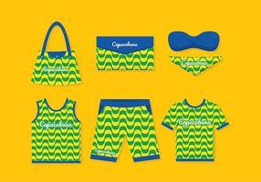 Copacabana Merchandise Gratis Vector