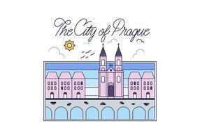 Gratis Prag Vector