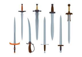 Schwert Vektor Pack
