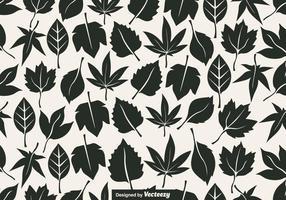 Vektor nahtlose Muster der Blätter