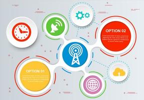 Gratis Vector Infographic Design