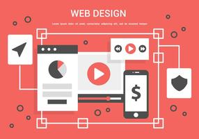 Free Vector Web Design Illustration