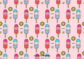 Popsicles Vektor Muster