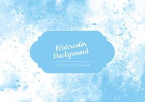Vector hellblau Aquarell Hintergrund