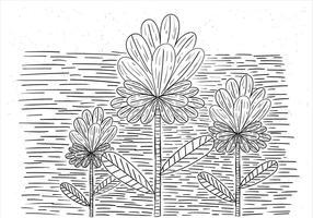 Gratis Vector Flower Illustration