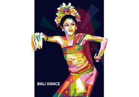 Bali Tanz Vektor WPAP