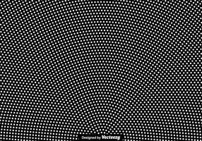 Vector White Halftone Hintergrund