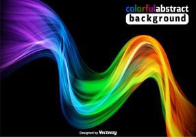 Bunte Spektrum Hintergrund - Vektor