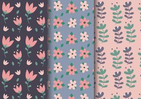 Freie Frühlings-Blumenmuster vektor
