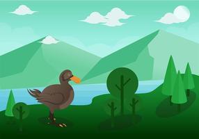 Dodo-Vogel-Vektor