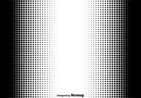 Halbton-Quadrate Vector Illustration