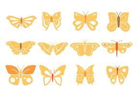 Schmetterlinge Entwurf vektor