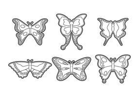 Gratis Beautiful Mariposa Vector