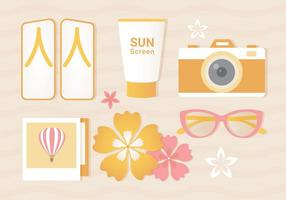 Fri sommar Vector Illustration