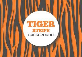 Freier Tiger-Streifen Hintergrund Vektor