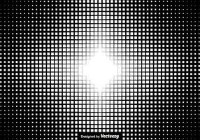 Halbton-Quadrat-Hintergrund Vektor-Illustration