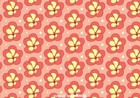 Rhododendron Blume Seamless Pattern Vector