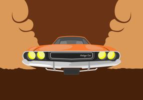 Dodge-Car Illustration