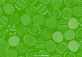 Vector Ostereier Nahtlose Muster für Frühjahr Saison