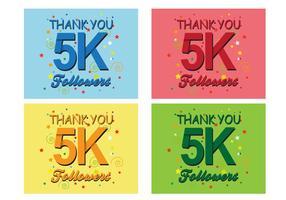 5K Follower