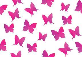 Vattenfärg Butterfly Seamless Pattern Butterfly vektor