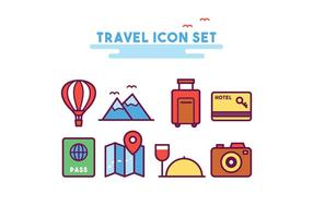 Reise Icon Set