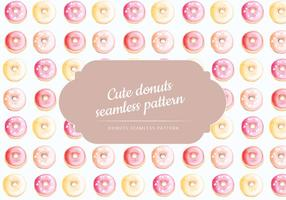 Vector Hand Drawn Donuts Pattern