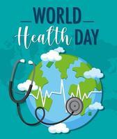 världens hälsodag logotyp