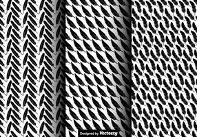 Vector Nahtlose Muster Von Feather Icons