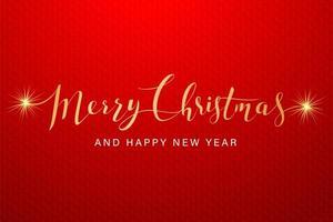 kalligraphische Frohe Weihnachten Schriftzug
