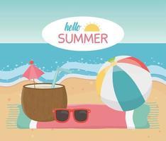 hej sommarlov och strandsammansättning