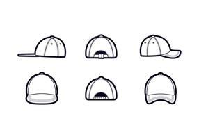Freie Hervorragende Hut-Vektoren vektor