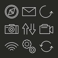 Symbol für Benutzeroberfläche vektor