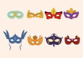 Flat Masquerade Ball Vektoren