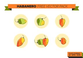 Habanero fri pack vektor
