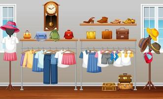 inredningsdesign av omklädningsrumsbakgrund