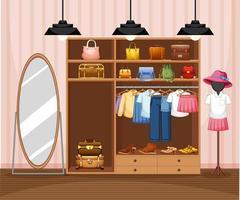 mode kläder butik bakgrund