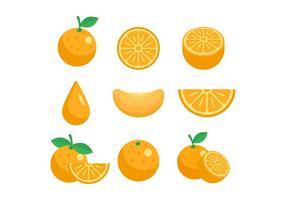 Kostenlose Clementine Vektor