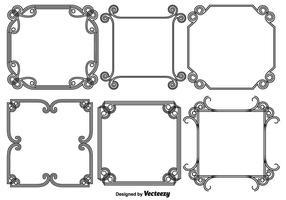 Vector Set Abstrakt Frames / Grenzen