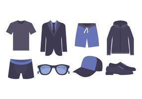 Männer Mode Vektor Pack