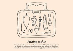 Angeln Tackle Box vektor